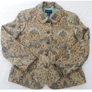 Focus 2000 Petite - Fully Lined Tapestry Jacket
